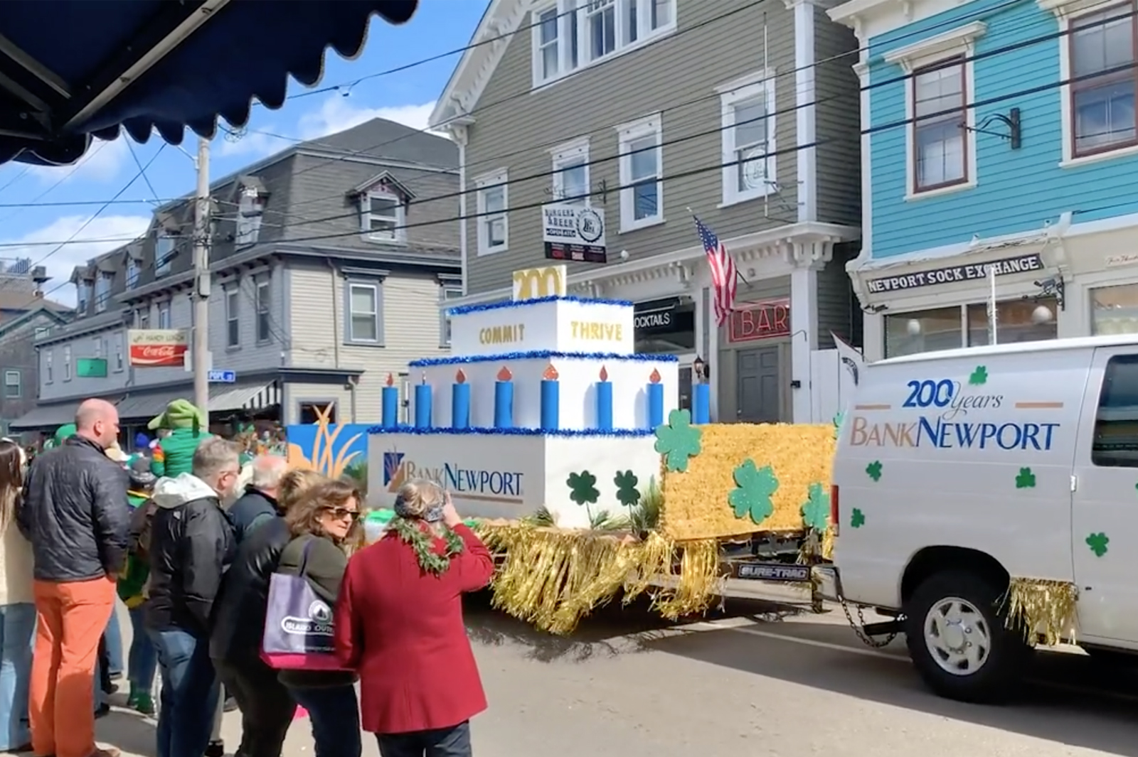 Newport Bank Float